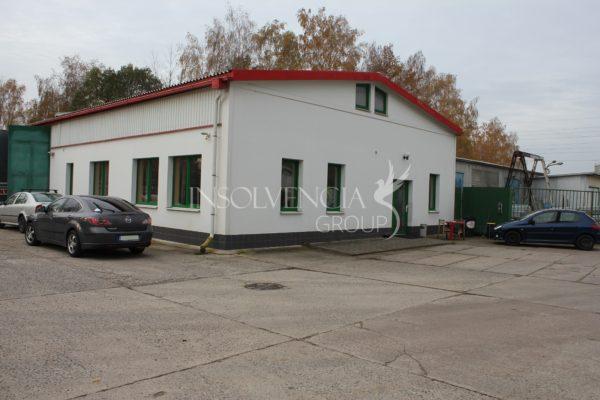 Dražba průmyslového areálu, Černá za Bory, Pardubice (VYDRAŽENO)