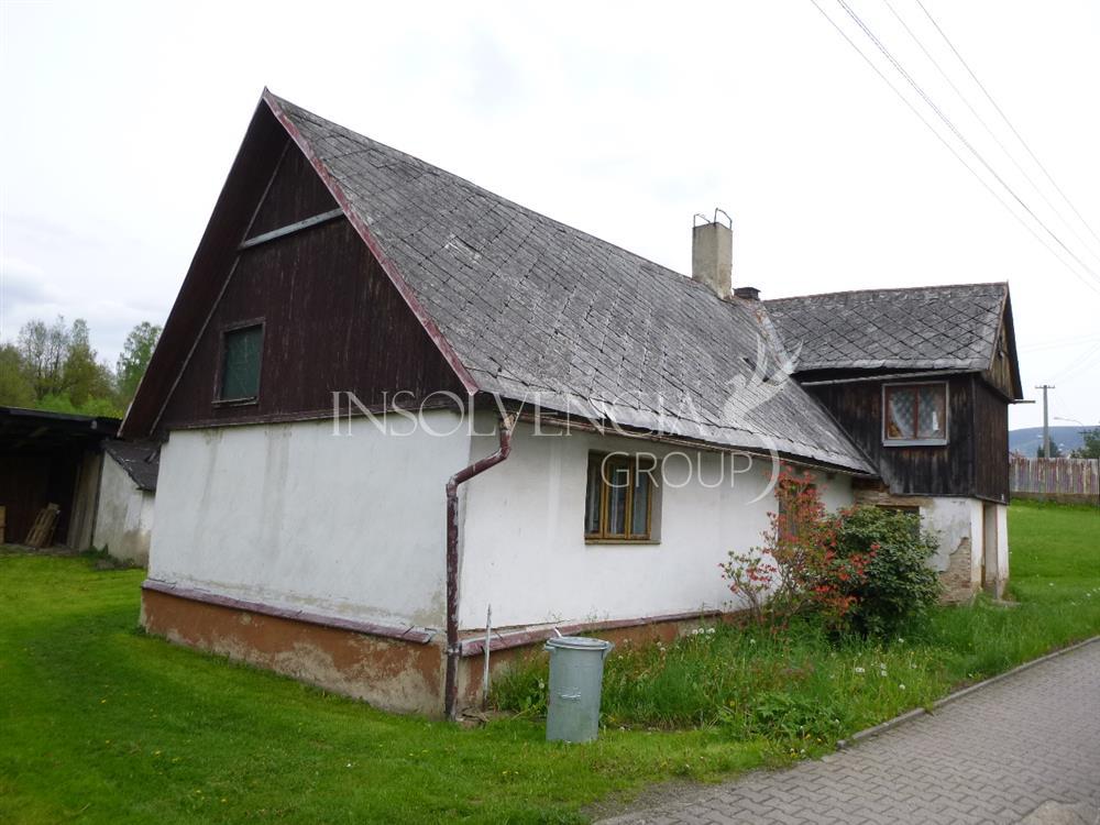 Prodej 1/2 podílu rodinného domu 3+2, Hejnice, Liberec