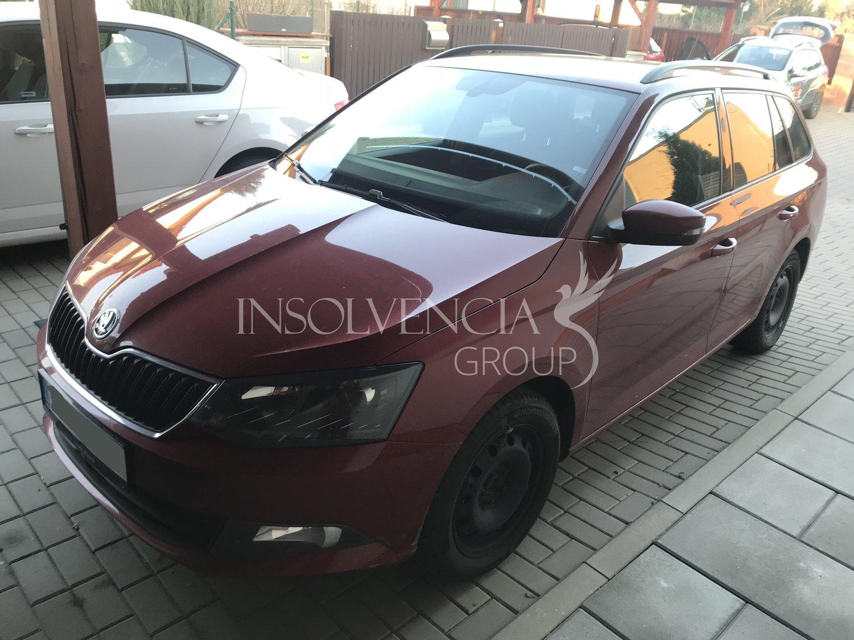 Prodej osobního automobilu Škoda Fabia III. (PRODÁNO)