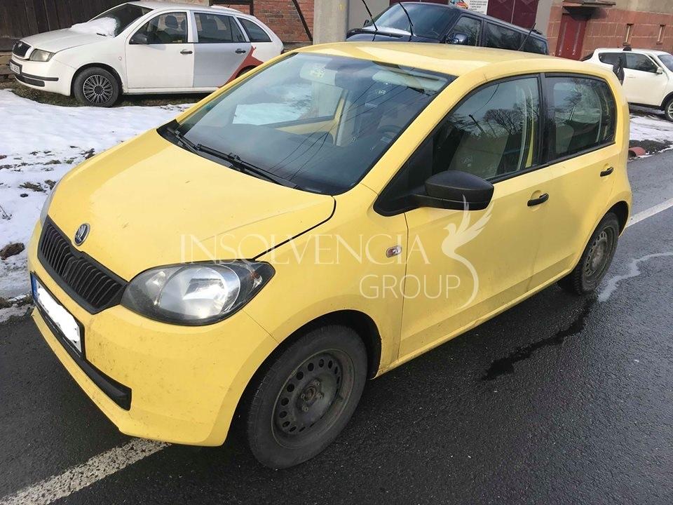 Prodej osobního automobilu Škoda Citigo 1.0i Cng (PRODÁNO)