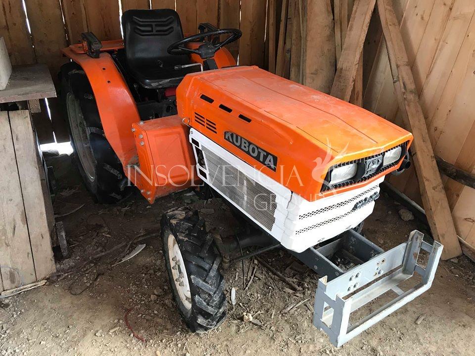 Prodej malotraktoru Kubota Bulltra 4×4 (PRODÁNO)