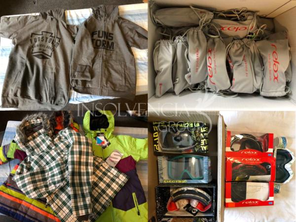 Prodej souboru oblečení a doplňků, Brno